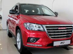 Haval вывел с российского рынка кроссоверы H2 и H6