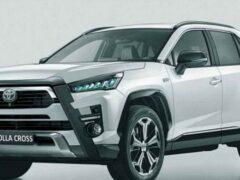 Новая Toyota Corolla Cross пользуется ажиотажным спросом