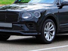 Новый Bentley Bentayga в камуфляже заметили на тестах
