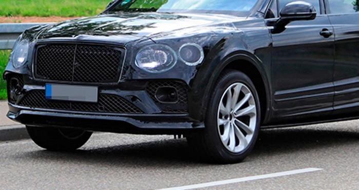 Bentley Bentayga, кроссовер, новый