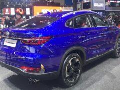 Changan обновил CS85 Coupe — конкурента BMW X4