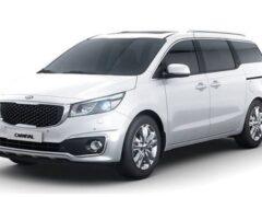 Новый минивэн Kia Carnival: цены и характеристики