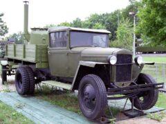 Отреставрирован ГАЗ-ММ 1939 г. в., работающий на дровах