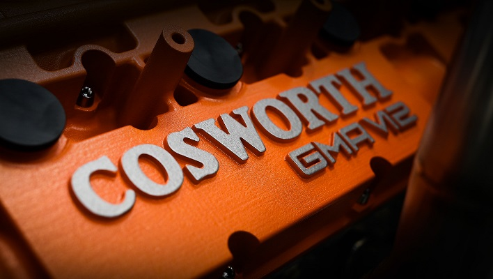 Cosworth GMA V12, двигатель