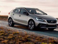 Volvo выпустит V40 в кузове кросс-купе