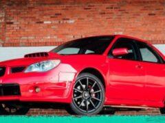 Subaru из фильма «Малыш на драйве» выставили на аукцион