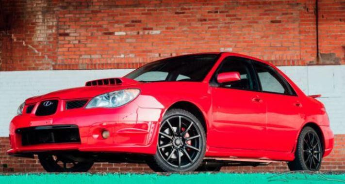 Subaru WRX 2006 года