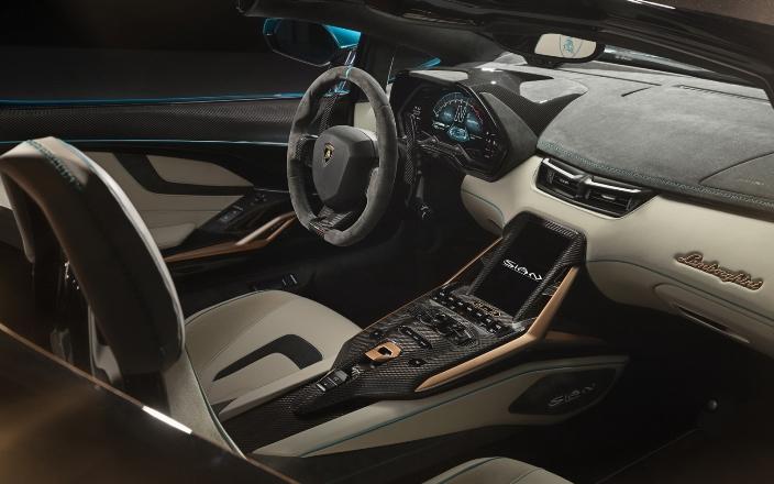 Lamborghini Sian, система охлаждения