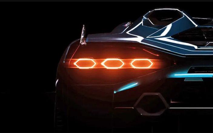 Lamborghini, тизер, гибридный суперкар