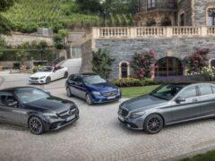 Mercedes-Benz подняли цены на седан и купе C-Class