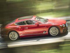 Bentley обновил комплектации нового Continental GT в России