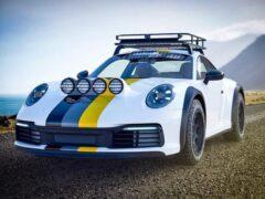 Тюнеры прокачали Porsche 911 и сделали его внедорожником