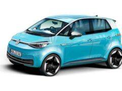 Volkswagen выпустит новый электрокар e-Zzity