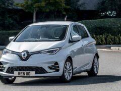 Renault представил электрический минивэн Zoe Van