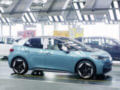 Volkswagen начал принимать заказы на новый электрокар ID.3