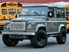 Ателье Legacy Overland модернизировало модель Land Rover Defender