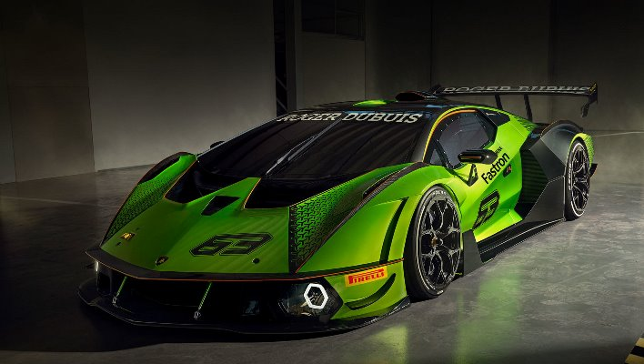 Lamborghini Essenza SCV12, трековый гиперкар