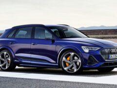 Audi представила спортивные варианты E-tron S