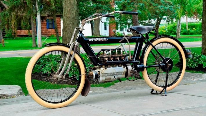 Pierce Arrow Four, 110-летний мотоцикл