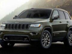 Jeep Grand Cherokee получит юбилейное издание в 2021 году