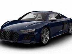 Audi выпустила юбилейную спецверсию суперкаров R8