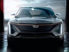 Cadillac презентовал электрокроссовер Lyriq с батареями Ultium