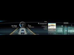Большой электро-кросс Cadillac получит гигантский экран