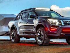 Пикап Nissan Frontier получит шасси от Mercedes-Benz X-Class