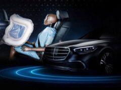 Новый Mercedes-Benz S-Class оснастят фронтальными подушками