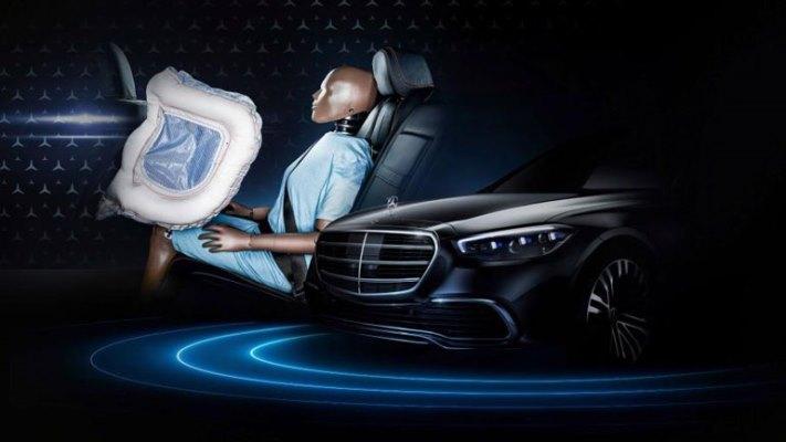 Mercedes-Benz S-Class, фронтальные подушки