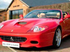 Редкий Ferrari Superamerica, с пробегом 2900 км, выставлен на продажу
