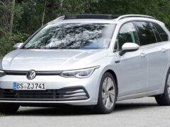 Volkswagen вывел на тесты «внедорожную» версию Golf Alltrack