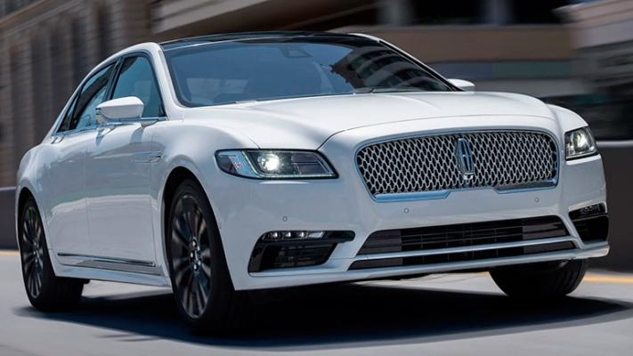 Lincoln Continental, седан