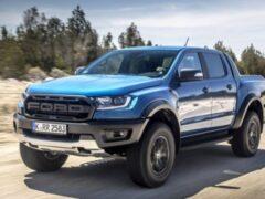 Рестайлинговый Ford Ranger Raptor оснастят мотором V6