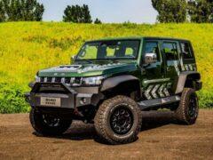 Стартовали продажи внедорожной версии недорогого аналога Jeep Wrangler