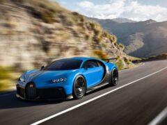 Спрос на гиперкар Bugatti Chiron Pur Sport превышает предложение