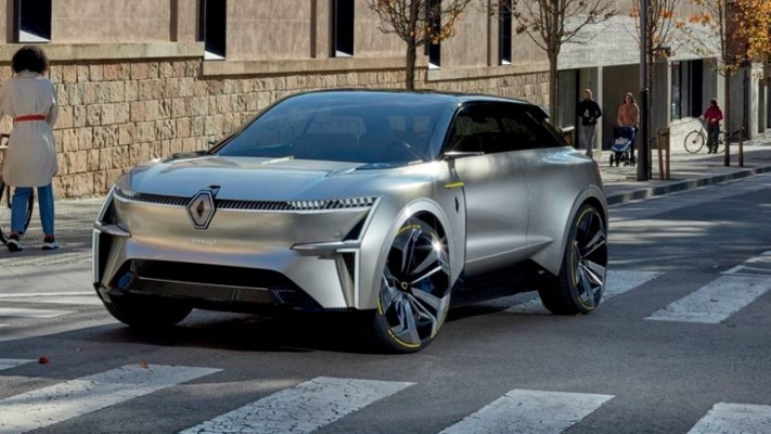 Renault, платформа CMF-EV