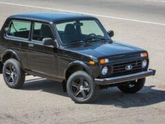 АвтоВАЗ планирует выпустить лимитированную версию Lada 4×4