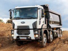 В России представлен обновленный самосвал Ford Cargo