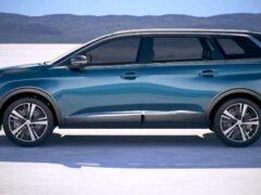 Peugeot 5008 получил новый дизайн
