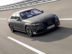 Mercedes S-class 2021 наградят пневмо-подвеской E-Active Body Control