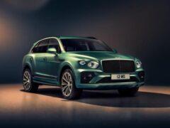 Bentley представила обновленную версию кроссовера Bentayga