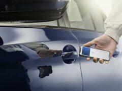 Смартфон Apple iPhone заменит ключ для автомобилей