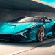 Lamborghini представила гибридный родстер Sian