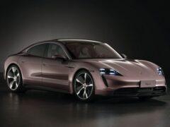 Самый дешевый вариант электромобиля Porsche Taycan появился в Китае