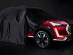 Nissan показал на очередном видео новый Nissan Magnite