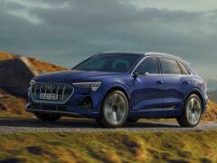 Audi e-Tron лидирует среди электрокаров в своем классе