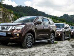 Nissan вывел на тесты обновлённый рамный внедорожник Terra