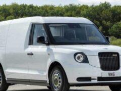 Компания LEVC опубликовала изображения своего фургона VN5
