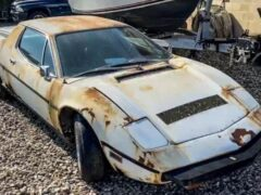 В США найден редчайший Maserati, много лет простоявший на улице